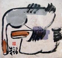 ZHU Ming - Painting - Ducks