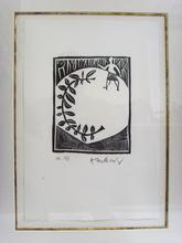 Pierre ALECHINSKY (1927) - Le Poète assassiné