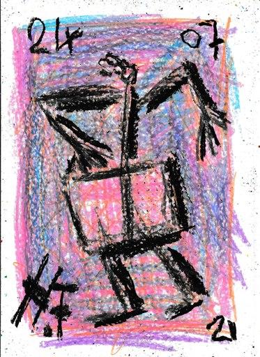 Harry BARTLETT FENNEY - Drawing-Watercolor - shoulders street style 2 (24 07 21)