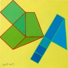 Achille PERILLI - Peinture - Grosso 2005