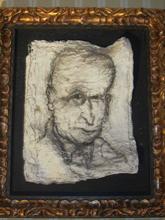 Miquel BARCELO (1957) - CASTOR AU FUSAIN