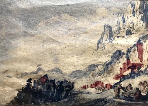 José María SERT Y BADIA - 绘画 - Catalonia - Cataluña - Montserrat - Catalogne