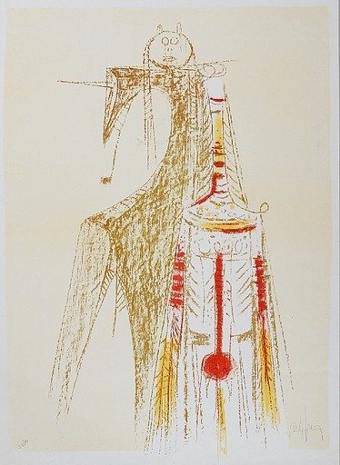 维夫里多•拉姆 - 版画 - Totem
