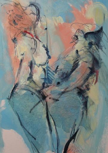 Alain GESTIN - Peinture - Couple