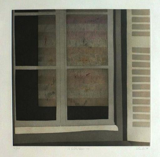 Jean SOLOMBRE - Grabado - La bibliothèque rose