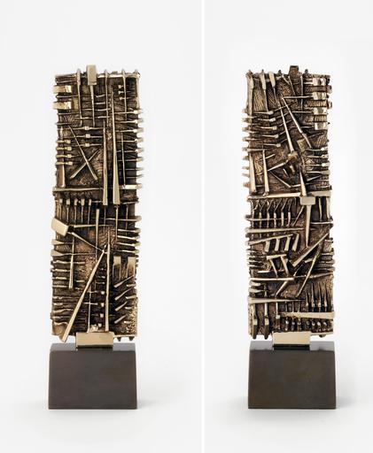 Arnaldo POMODORO - Scultura Volume - Stele I