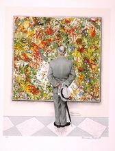 诺曼•洛克威尔 - 版画 - The Connoiseur