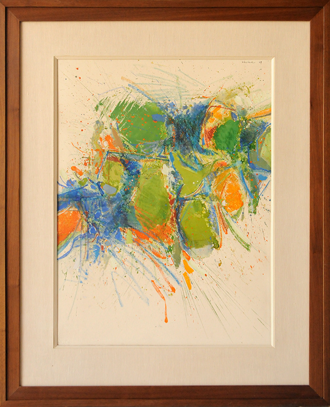 John Harrison LEVEE - Peinture - Abstract Composition