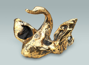 Salvador DALI - Scultura Volume - Dragon Swan Elephant (Prestige-scale)