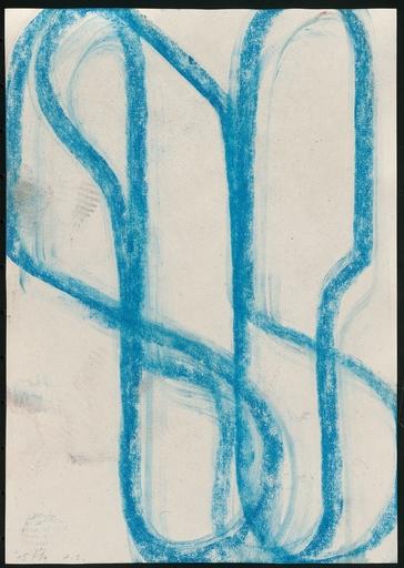 Albrecht SCHNIDER - Disegno Acquarello - Untitled