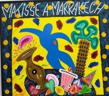 Bruno DONZELLI - Painting - Matisse a marrakech
