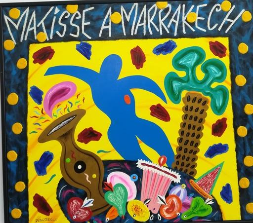 Bruno DONZELLI - Pintura - Matisse a marrakech