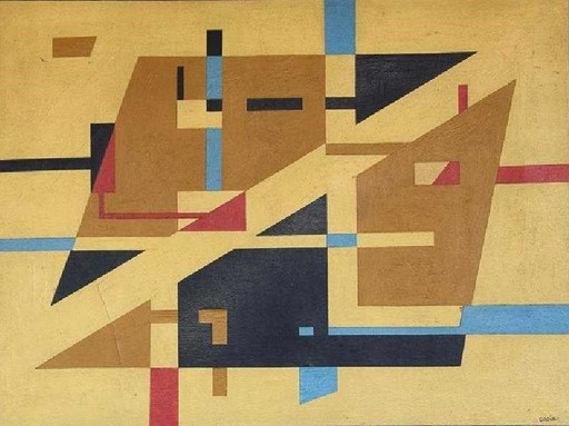Sandu DARIE - Painting - Abstract.