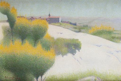 Achille LAUGÉ - Painting - Genêts près de Cailhau, Aude