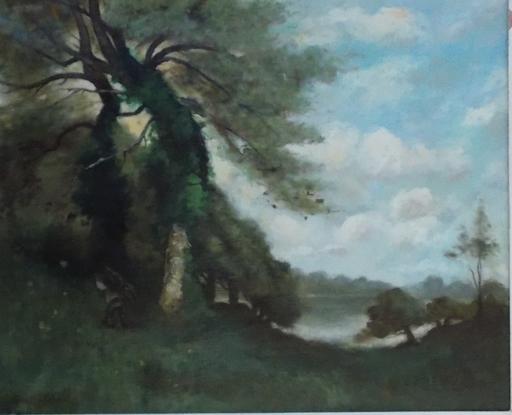 Paul Désiré TROUILLEBERT - Pintura - RAMASSEUR DE FAGOTS