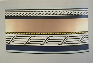Roy LICHTENSTEIN, Entablature IV