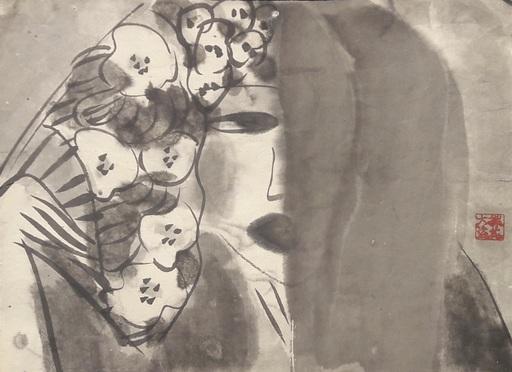 TING Walasse - Peinture - Untitled