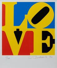 罗伯特•印第安纳 - 版画 - LOVE