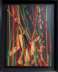 Fernandez ARMAN - Gemälde - Untitled