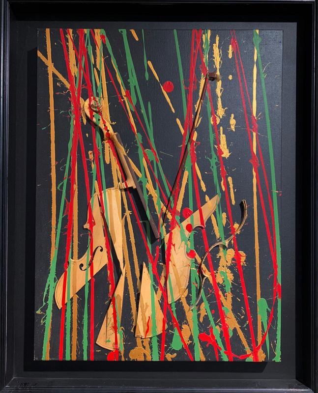 Fernandez ARMAN - Pittura - Untitled