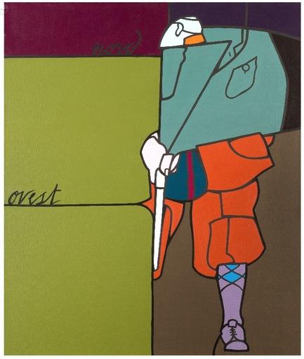 Valerio ADAMI - Painting - Nord Ovest