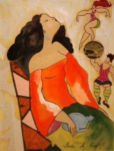 Linda LE KINFF - Gemälde - Spectacles