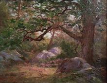 Géo WEISS - Painting - Sous bois