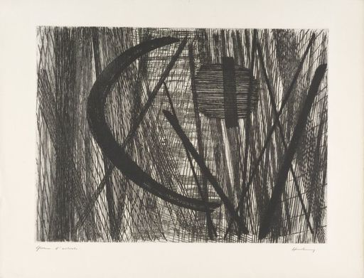 Hans HARTUNG - Estampe-Multiple - G11