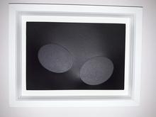 Turi SIMETI - Pintura - due ovali neri