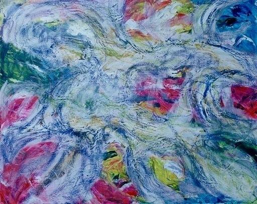 Theodora BERNARDINI - Painting - Sans Titre (N°644)