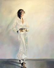 Maija TABAKA - Painting - REGINA
