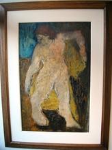 Bernard LORJOU - Painting - Personnage