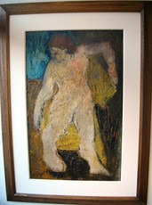 Bernard LORJOU - Peinture - Personnage