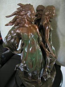 Frederick Elliot HART - Sculpture-Volume - Daughters of Odessa (THIRD-life)