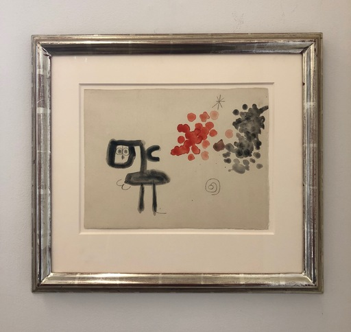 胡安·米罗 - 水彩作品 - Untitled