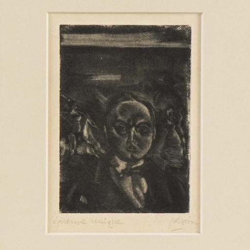 Jules PASCIN - Grabado - Pierre MacOrlan
