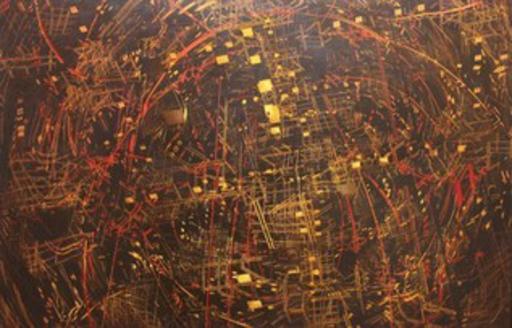 David APIKIAN - Pittura - Fragmentation I