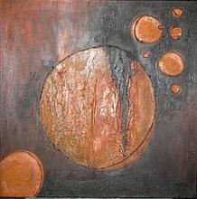 Patrick Victor DOPPAGNE - Peinture - Tangerine Ascension