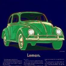 Andy WARHOL - Estampe-Multiple - Volkswagen