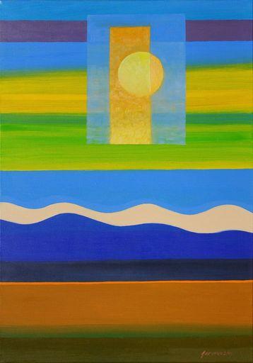 Istvan JARMECZKY - Gemälde - BALATON ABSTRACT 6