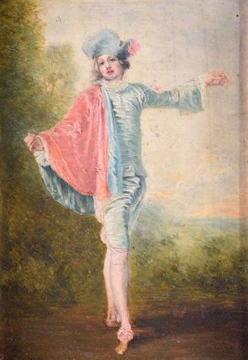 Jean-Antoine WATTEAU - Gemälde - The Indifferent Man