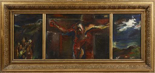 Jiri BRYNDA - Pintura - Triptych of the Crucifixion