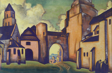 Nicolaj Konstantinov ROERICH - Painting - Secrets of the Walls