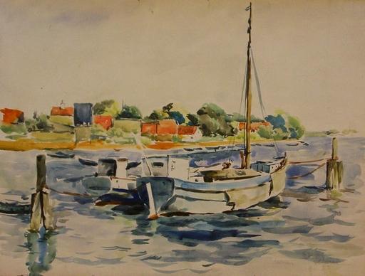 Artur ZAHN - 绘画 - Schleswig