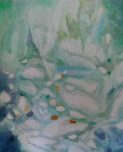 Theodora BERNARDINI - Painting - Ma Rivière 10