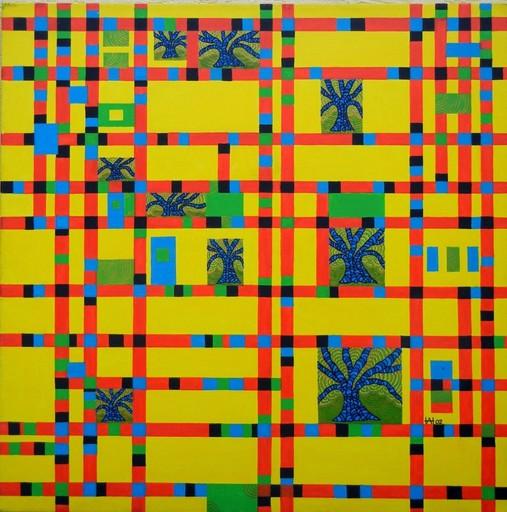 Annemarie HOFFMANN - Painting - Broadway-Booggie-Wooggie-Bäume    (Cat N° 5844)