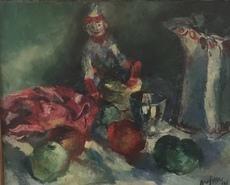 Jean AUJAME - Painting - Nature morte