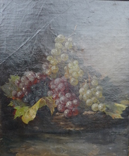 Josef LAUER - Pintura - Trauben