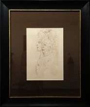 Salvador DALI (1904-1989) - Trois visages de Shakespeare