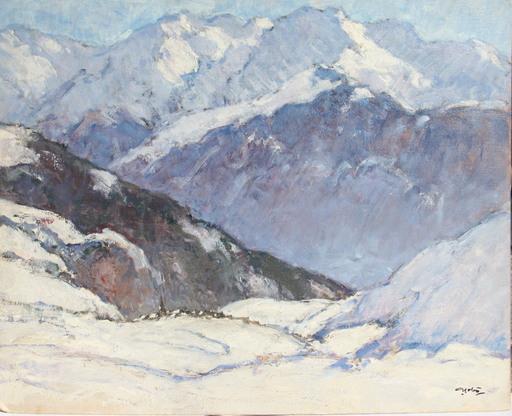 Georges GOBO - Peinture - HUEZ